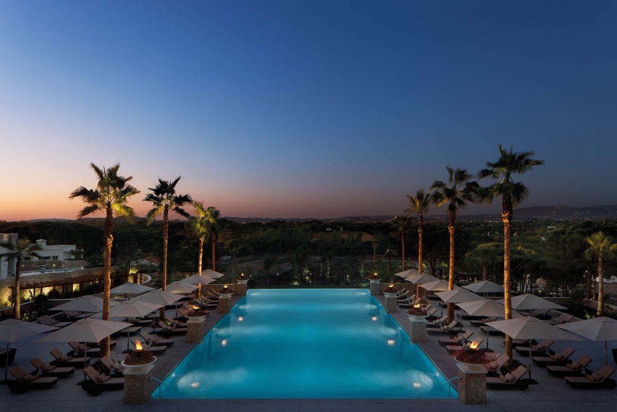 Lifestyle hotels conrad algarve portugal europe all lifestyle hotels auserlesene - Infinity pool europe ...